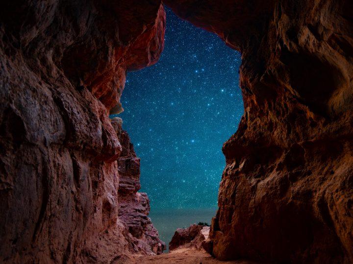 Sedona: A Cave in Starlight