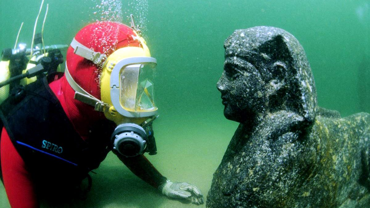 Lost Pharaonic cities of the deep Mythology comes to life under the Mediterranean