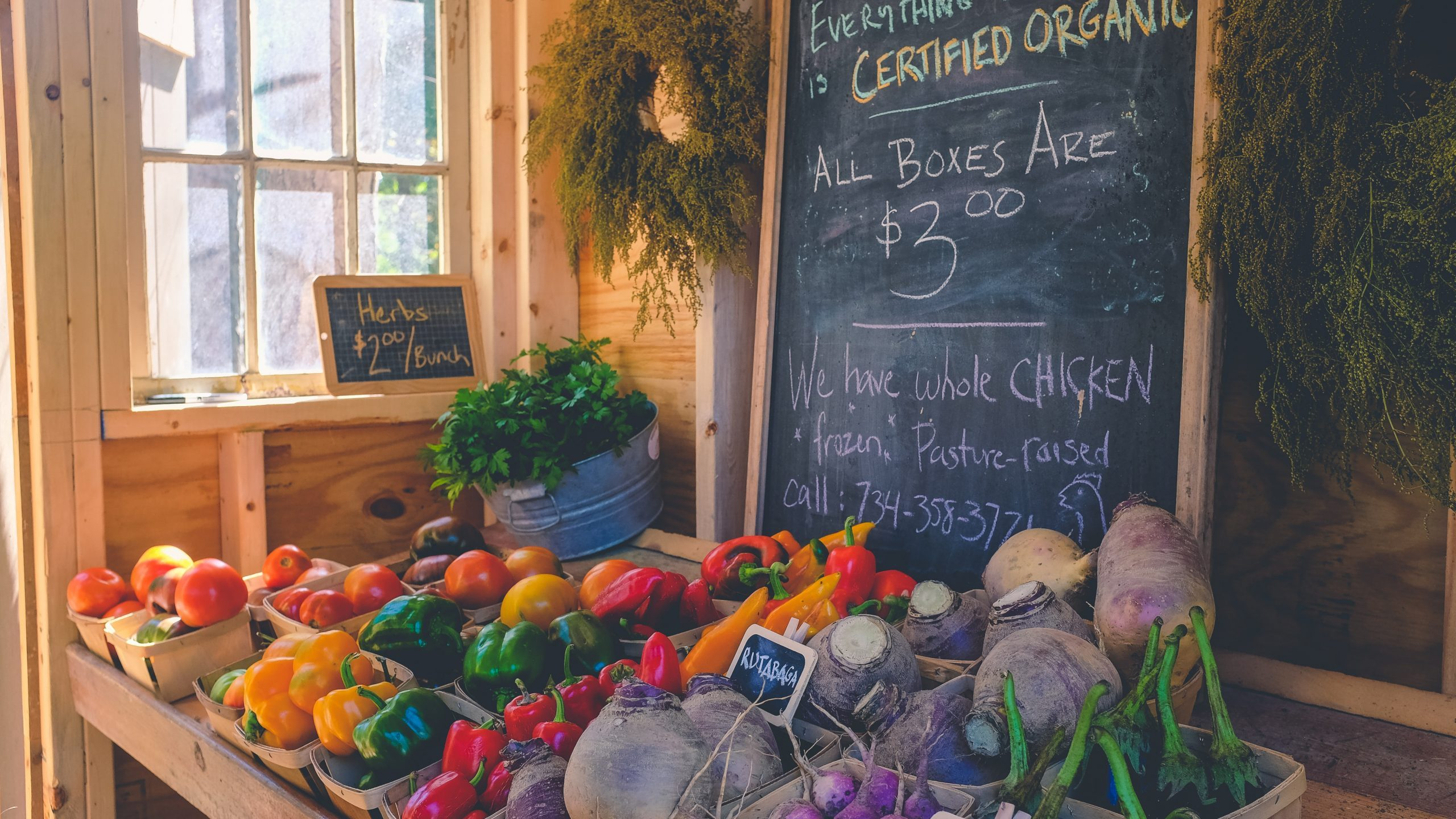 The value of organic food