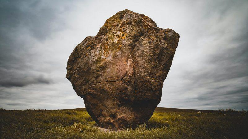 Stone at Avebury